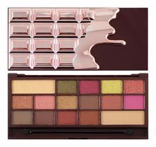 Makeup Revolution I MAKEUP - CHOCOLATE ROSE GOLD - Paleta 16 cieni do powiek MAK1DPO-01-01