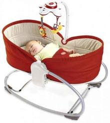 Tiny Love Leżaczek 3w1 Rocker Napper - Red TL18010068