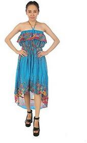 Boho lofbaz Maxi sukienka damska sukienka sukienka letnia sukienka Maxi, harem-sukienka plażowa - wiązany na karku w rozmiarze uniwersalnym B01HGDZ8RS
