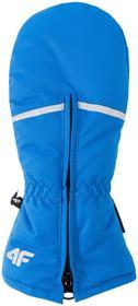 4F JUNIOR Rękawice narciarskie dla małych chłopców JREM101Z niebieski [J4Z17-JREM101] JREM101 niebieski