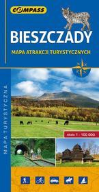 Wydawnictwo Compass praca zbiorowa Bieszczady. Mapa atrakcji turystycznych 1:100 000