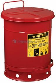 Topserw Stalowy pojemnik zabezpieczający na odpady olejowe - 34L