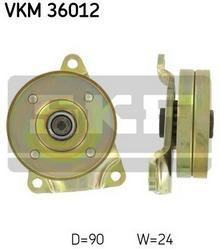 SKF rolka kierunkowa / prowadząca, pasek klinowy zębaty VKM 36012