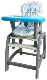 Baby Mix Krzesełko wysokie 2w1 UR-DC01 BLUE 44034
