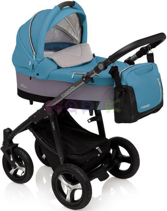 Baby Design Husky 2017 2w1 turkusowy