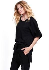 Robert Kupisz Q T-shirt damski Desert Raglan Short Sleeve czarny