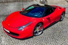 Ferrari Italia kontra Lamborghini Gallardo Toruń kierowca I okrążenie TAAK_JFCLGT1