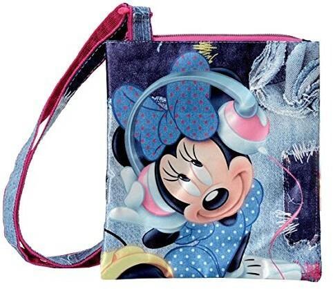 de91839f9be45 Coriex Couture dzieci Disney Minnie & DAISY płaskie torba na ramię-torba  sportowa d95141 MC, 20 cm, multicolor D95141 MC - Ceny i opinie na  Skapiec.pl