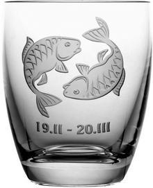 Crystal Julia Szklanka znak zodiaku ryby na prezent 05620)