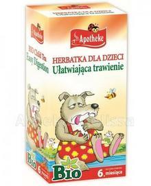 Apotheke BIO Herbatka dla dzieci na trawienie 20 sasz