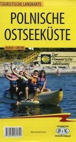 Polnische Ostseekuste Touristische Landkarte 1:200 000 - BiK