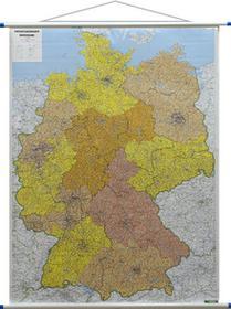 Freytag&Berndt Niemcy mapa ścienna kody pocztowe 1:700 000 Freytag & Berndt