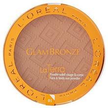 L'Oréal Paris Glam Bronze Maxi pudru brązującego światła na poziomie 01Portofino ZIT04614