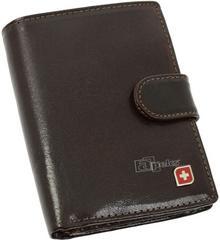 d9dffbc51d7cd Genevian Luxury Objects 03-2718-04 portfel skóra - brązowy – ceny ...