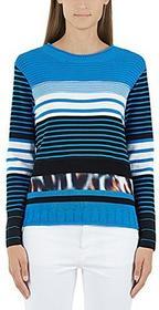 Marc Cain Sports Marc cain Sports damski sweter GS 41.23M29 -  krój luźny B01N1LQF30