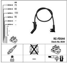 NGK Przewód zapłonowy RC-FD544 0639