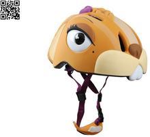 Kask rowerowy Crazy Safety Wiewiórka 546