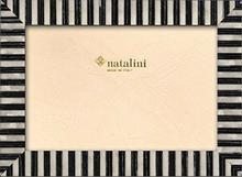 Natalini natalini KT \ 20\ B \ n 13X 18ramka na zdjęcia, drewno/szkło czarna/biała 21x 16x 1,5cm KT\20\B\N 13X18
