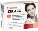 Feminovit Żelazo. 30 tabletek powlekanych. Salvum 3287561