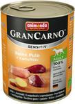 Animonda GranCarno Sensitiv Adult Dog smak Indyk + ziemniaki 6x800g AN 82-765