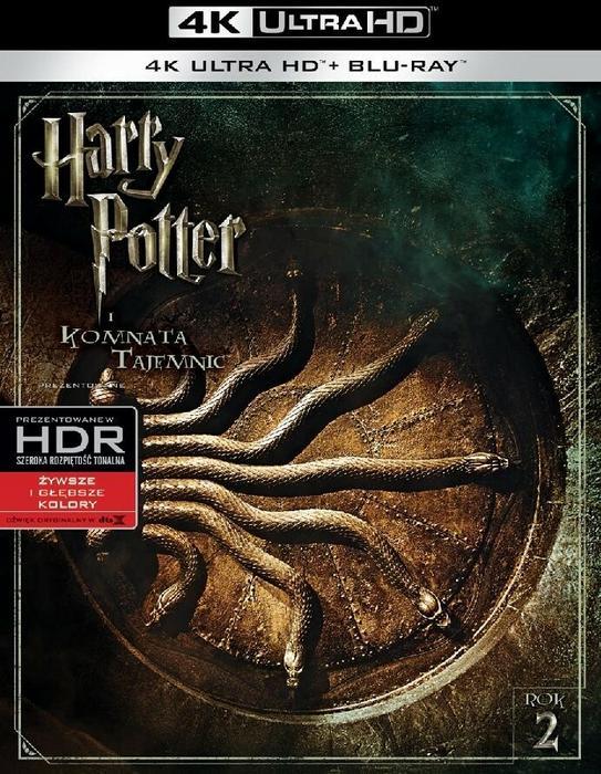 Warner Bros Entertainment Harry Potter i Komnata Tajemnic 4K
