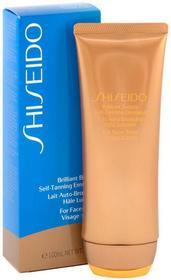 Shiseido Suncare Brillant Bronze, balsam samoopalający do twarzy i ciała, 100 ml