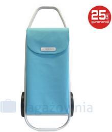 ROLSER Wózek na zakupy COM 8 Błękitny - błękitny Wózek na zakupy COM Soft 8 Aqua - NOWOŚĆ!