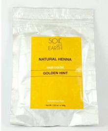 SOIL AND EARTH Naturalna Henna do włosów Indyjska ZŁOTY BLOND 100g Soil &Earth 8906054671062