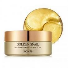 SKIN79 Golden Snail płatki pod oczy ze złotem i mucyną ślimaka 100g/60szt