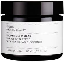 Evolve Organic Beauty Evolve Organic Beauty, maska do twarzy rozświetlająca i wygładzająca, 60 ml