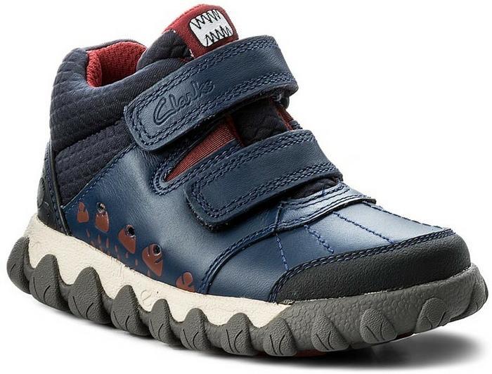 Blue Combi 261270146 Leather Clarks Glo Inf Trzewiki Tyrex qwYXYPO