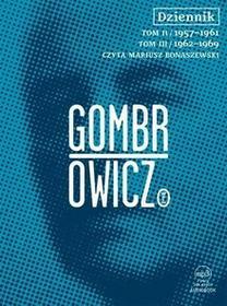 Dziennik. Tom 2 i 3 (audiobook CD) - Witold Gombrowicz