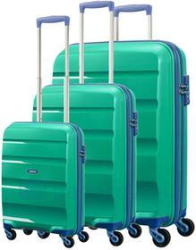 Samsonite AT by Komplet walizek AT BON AIR 59425 Zielonr - zielony / granatowy 59425 GREEN / MARINE