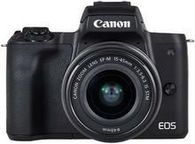 Canon EOS M50 + 15-45 + 55-200 kit czarny