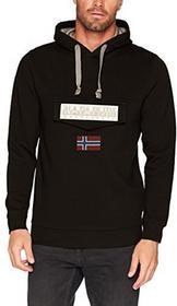 Napapijri bluza męska - krój regularny xl czarny (Black 041) B07357LDCQ