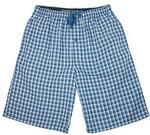 Hanes hanes Mężczyźni pidżama spodnie. w kratkę One Size -  m P-2002-NAV408-M