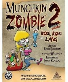 Black Monk Gra Munchkin Zombie 2 - Kosi, Kosi Łapci