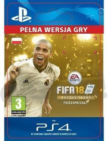 FIFA 18 Edycja Ikony PS4 wersja cyfrowa