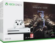 Microsoft Xbox One S 500GB Biały + Shadow of War