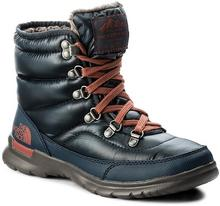The North Face Śniegowce Thermoball Lace II T92T5LYWW Shiny Ink Blue/EtruscanRed