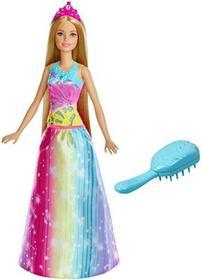 Barbie Magiczne Włosy Księżniczki Światła Dźwięki - ekspresowa wysyłka i bezpieczeństwo zakupów  21 dni na zwrot.