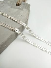 MegaSilver Srebrny (925) łańcuszek BISMARK 50 cm BS 3R 50/50