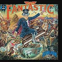 Elton John Captain Fantastic And The Brown Dirt Cowboy Vinyl)