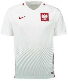 Nike dla dzieci POL Yth HM supporters Tee Euro 2016 koszulka Poland, biały, L 846807-100