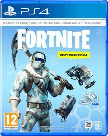 Fortnite: Deep Freeze Bundle (Zestaw Polarne Mrozy) PS4