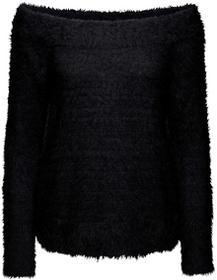 Bonprix Sweter dzianinowy czarny