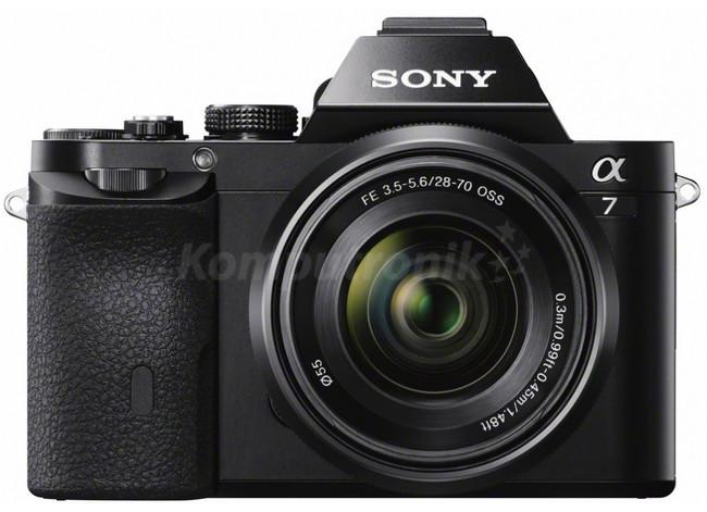 Sony Alpha 7 + 28-70 kit czarny