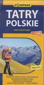 Tatry Polskie mapa 1:30 000 Compass - Compass