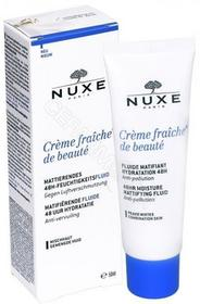 Nuxe Creme Fraiche de Beaute fluid matujący do skóry mieszanej 50 ml nowa formuła