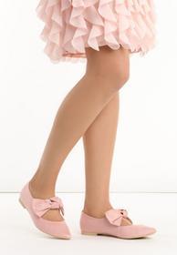 Renee Różowe Baleriny Ageri